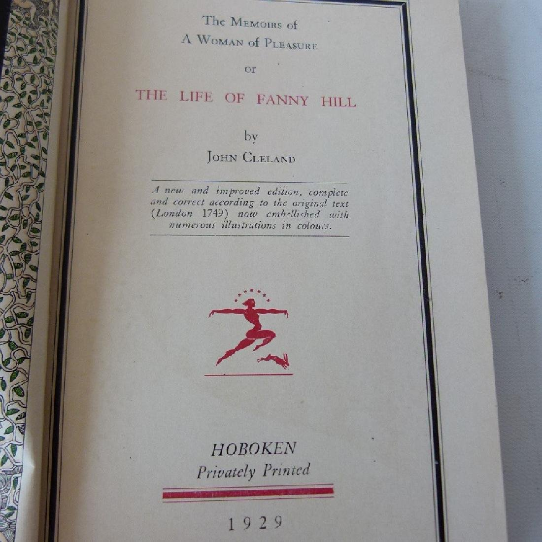 VOL. THE LIFE OF FANNY HILL BY JOHN CLELAND - 3