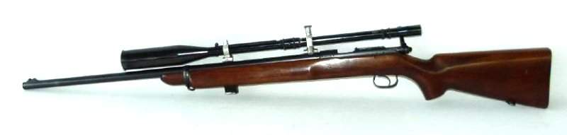 WINCHESTER MOD. 52, 22 CAL. LR BOLT ACTION