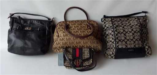 LOT (4) VINTAGE HAND BAGS INCL. COACH b76e2f56053ba