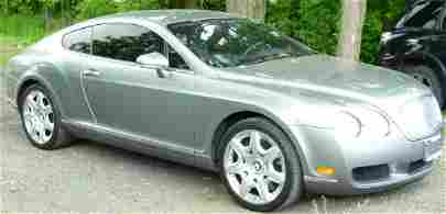 2006 BENTLEY CONTINENTAL GT COUPE, 29,000 MILES