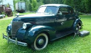 1939 CHEVY MASTER DELUXE 85 2 DOOR COUPE