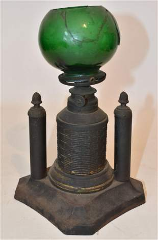EARLY COUNTER TOP CIGAR LIGHTER, 19TH C.