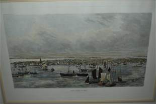 SOFT GROUND ETCHING NEW YORK 1852, UNSIGNED