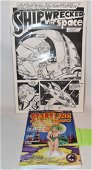 8 RON WILBER P/I  COMIC ILLUS. SHIPWRECKED IN SPACE