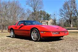 1988 CHEVROLET CORVETTE 2 DOOR SEDAN