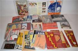LOT WORLDS FAIR ITEMS INCL. MAPS, BOOKS, BROCHURES