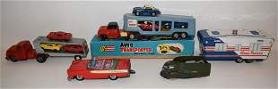 LOT ASSORTED VINTAGE JAPANESE TIN LITHO TOYS INCL. 1962