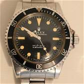 VINTAGE ROLEX SUBMARINER WRISTWATCH SERIAL  #4178425