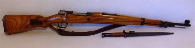 YUGO M48 8MM MAUSER RIFLE W/ BAYONET, BEZ OZNAKE