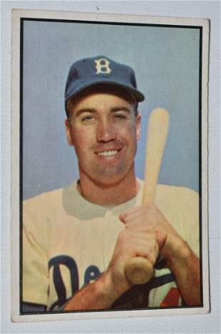 BOWMAN 1953 DUKE SNIDER BASEBALL CARD #117
