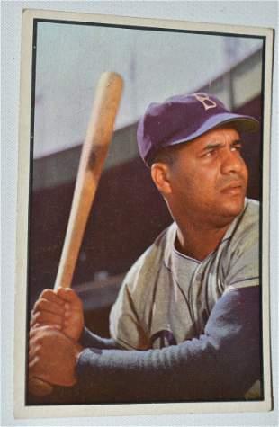 BOWMAN 1953 ROY CAMPANELLA BASEBALL CARD #46