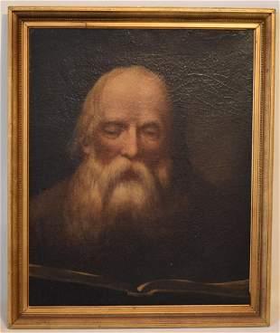 O/C BIBLIPHILIA READER (MOSES), 19TH C.