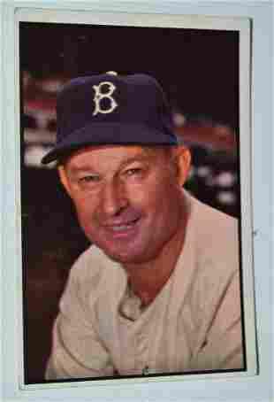 BOWMAN 1953 CHARLIE DRESSEN BASEBALL CARD #124