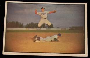 BOWMAN 1953 PEE WEE REESE BASEBALL CARD #33