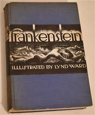 VOL. FRANKENSTEIN W/ WOOD ENGRAVINGS, LYND WARD 1934