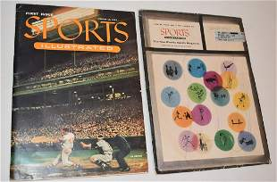RARE 1954 SPORTS ILLUSTRATED VOL. 1 W/ CARDS