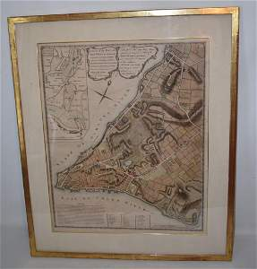 H/C ENGRAVING PLAN OF THE CITY OF NEW YORK, C. 1775/76