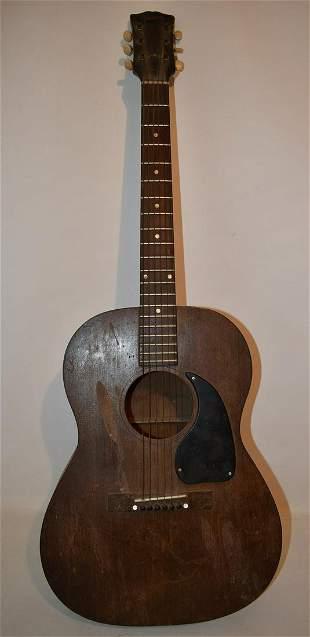 VINTAGE GIBSON GUITAR MODEL L-O ALL MAHOGANY C. 1940/50
