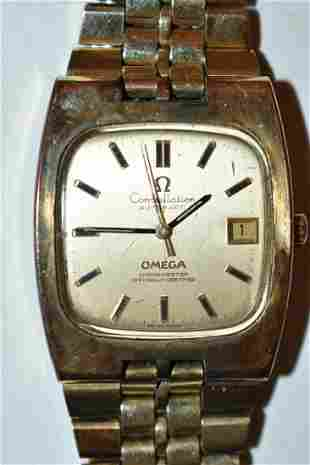 MODERN STYLE OMEGA CONSTELLATION AUTOMATIC  WATCH