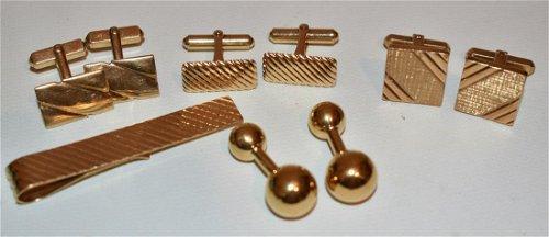 Cufflinks, Tie Pins & Tie Clips