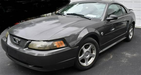 2004 FORD MUSTANG 40TH ANNIVERSARY MODEL, 105232 MILES