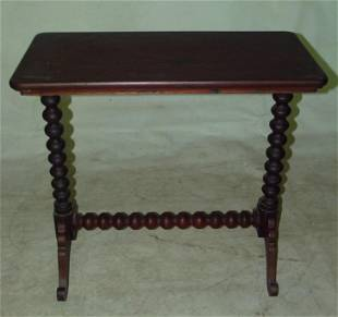 EMPIRE MAHOGANY OCCASIONAL TABLE, C. 1830
