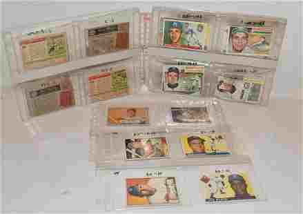 (24) 1950/60'S TOPPS/BOWMAN BASEBALL CARDS INCL. KOUFAX