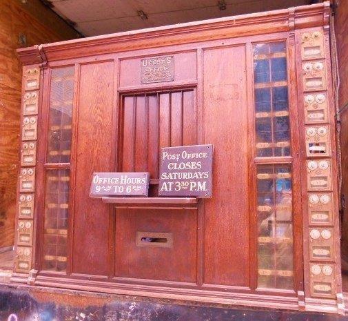 Hale Eddy N.Y. Post Office Clerks Counter 19th c.