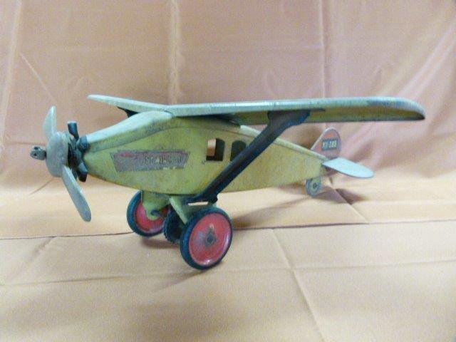 Keystone Airmail NX265 Pressed Steel Aeroplane c.1930