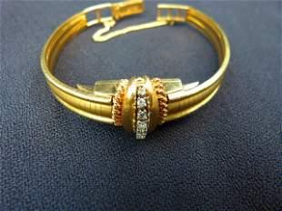 Ladies Kent 14kt. Diamond Watch c.1940