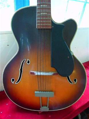 Rare Harmony Guitar Serial #0003 c.1952