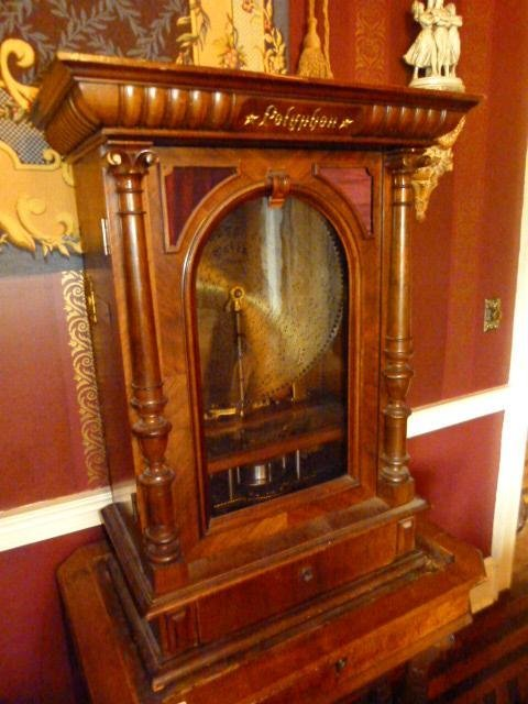 Victorian Coin Op Polyphon Music Box