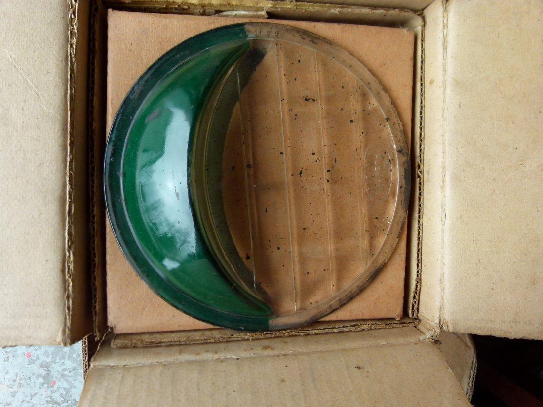Lot Assorted NOS EyeBrow Headlight Lenses c.1920