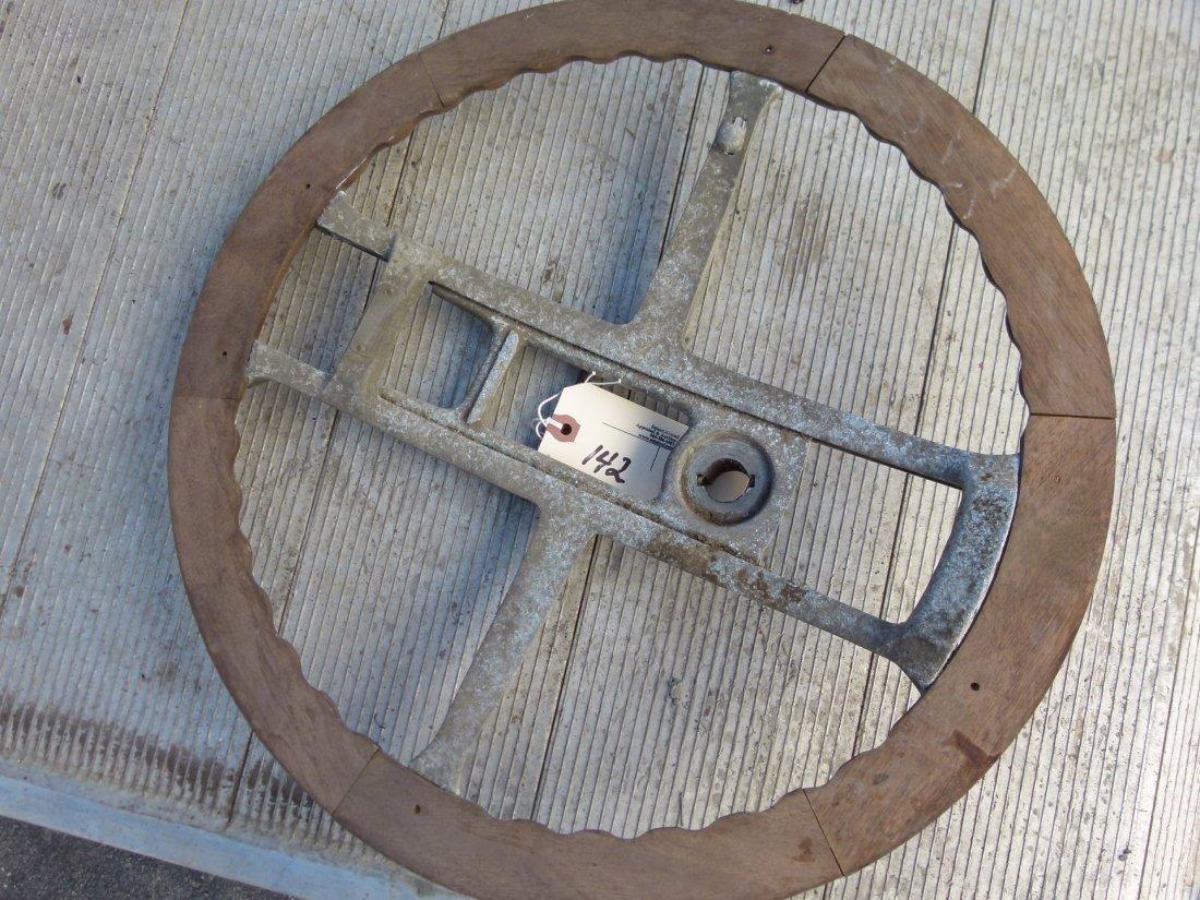 Vintage Neville Fat Boy Steering Wheel c.1910/20