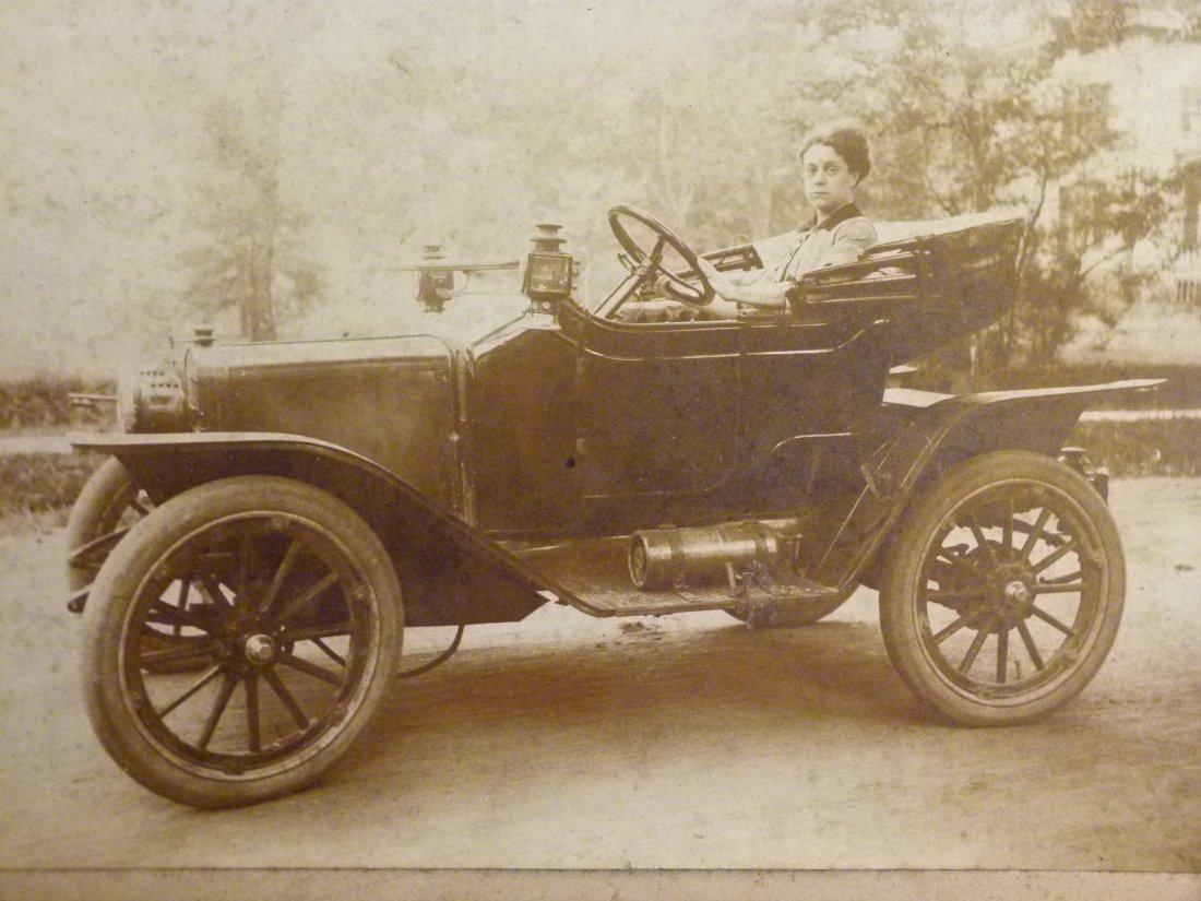 Lot Assorted Vintage Automobile Photo's