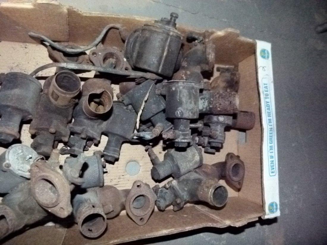 Lot Assorted Early Brass Carburetors c.1920