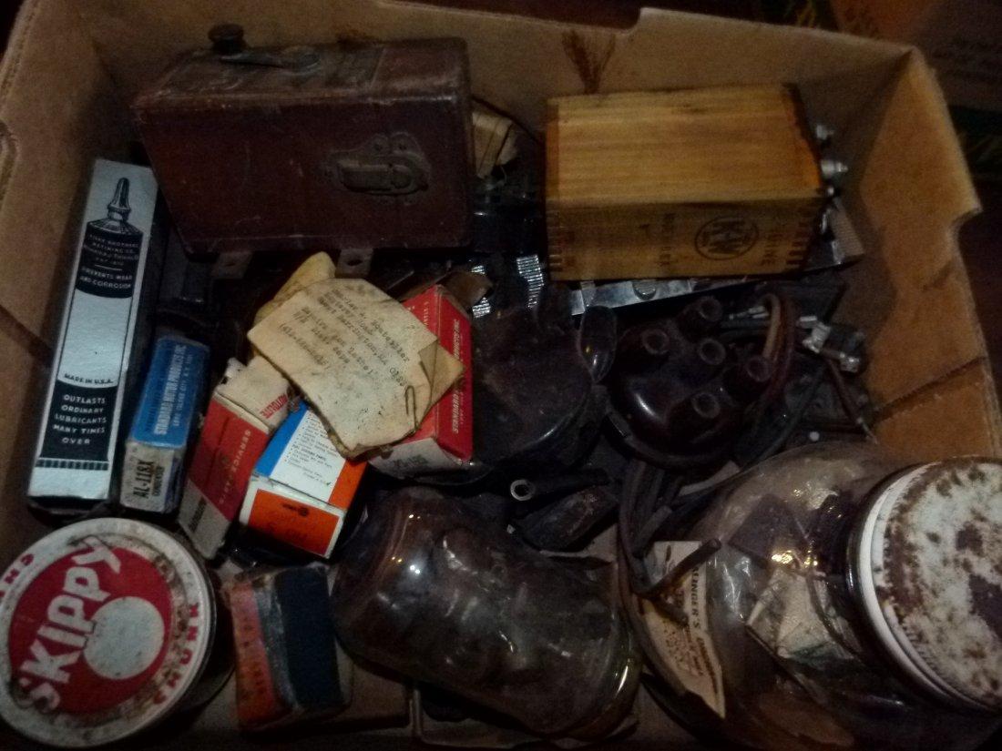 Lot Asort. Vintage Ignition Parts incl. Coils/Magneto