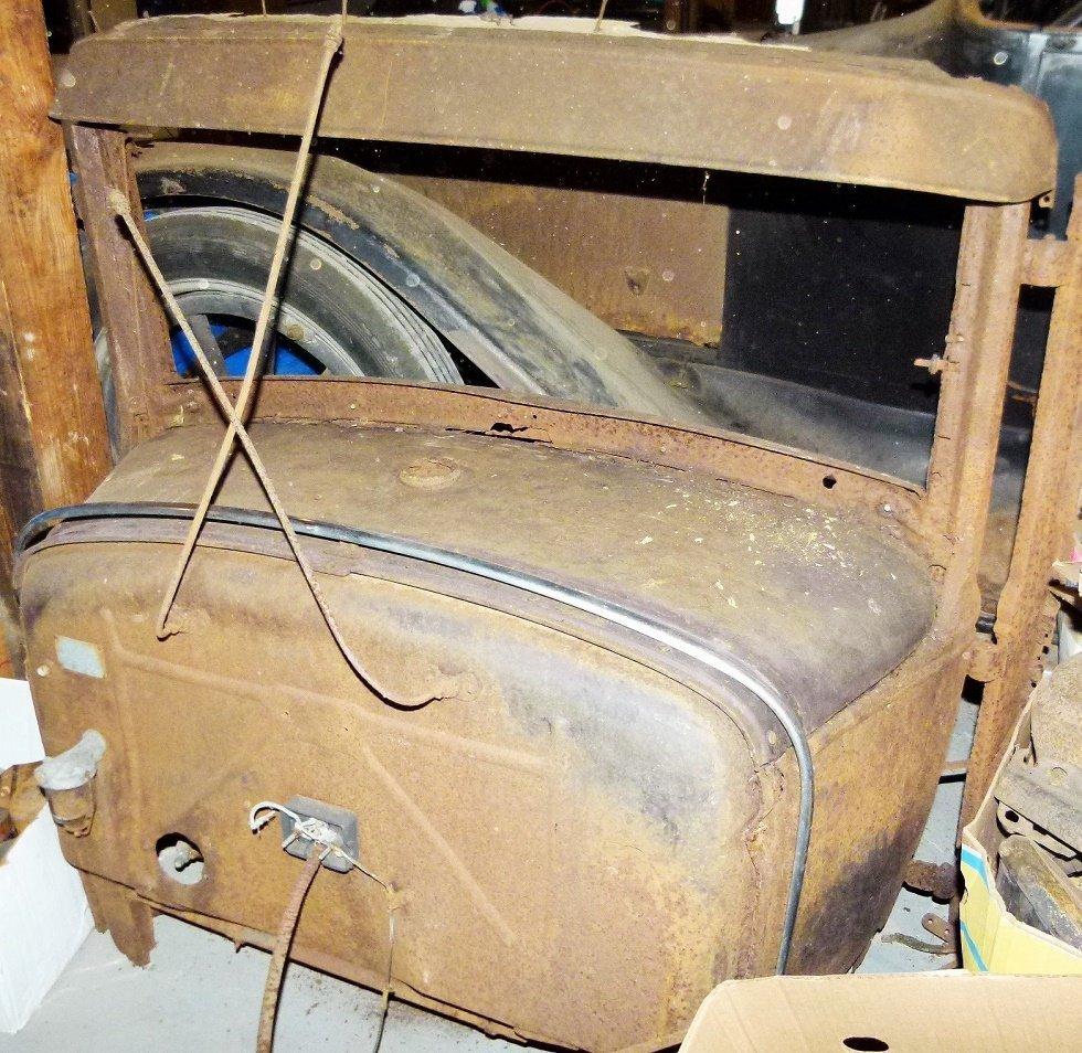 1930 Ford Model A Cowl & Visor