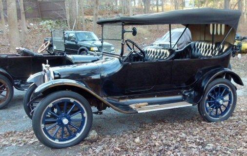 1914 Dodge Brothers Touring Sedan Vin # 213
