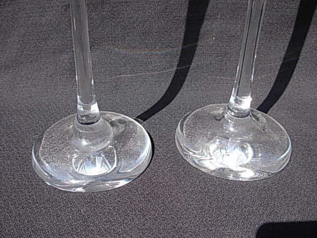 Lot (2) Vintage Steuben Glass Storks Signed - 4