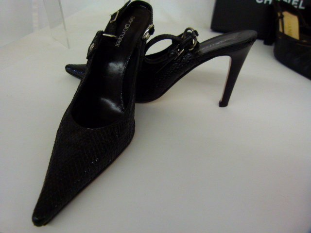 7 PR VINTAGE DESIGNER SHOES INCL. CHANEL, BLAHNIK, - 5