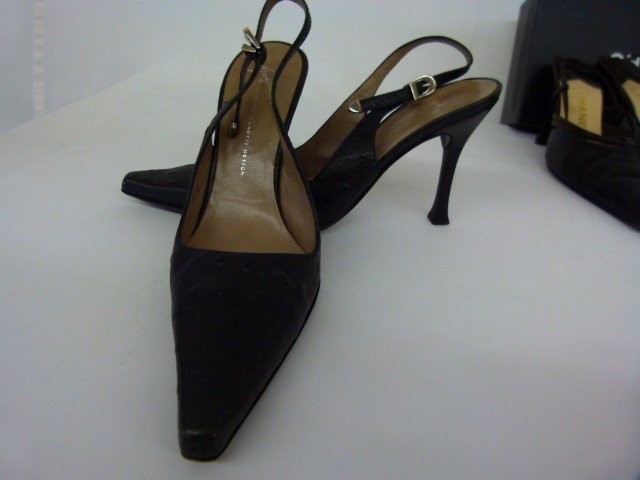 7 PR VINTAGE DESIGNER SHOES INCL. CHANEL, BLAHNIK, - 6