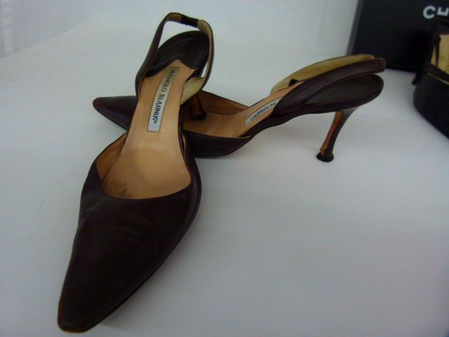 7 PR VINTAGE DESIGNER SHOES INCL. CHANEL, BLAHNIK, - 7