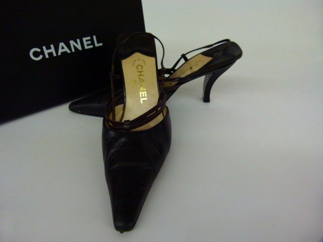 7 PR VINTAGE DESIGNER SHOES INCL. CHANEL, BLAHNIK, - 8