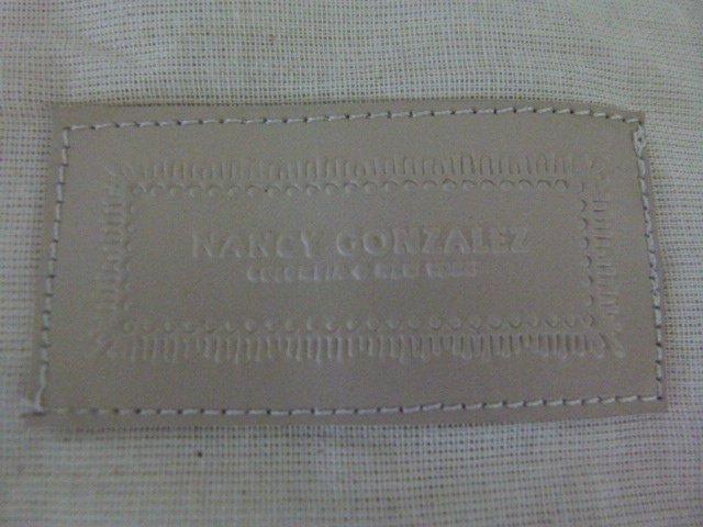 VINTAGE NANCY GONZALEZ CROCODILE (MAUVE) HANDBAG - 6