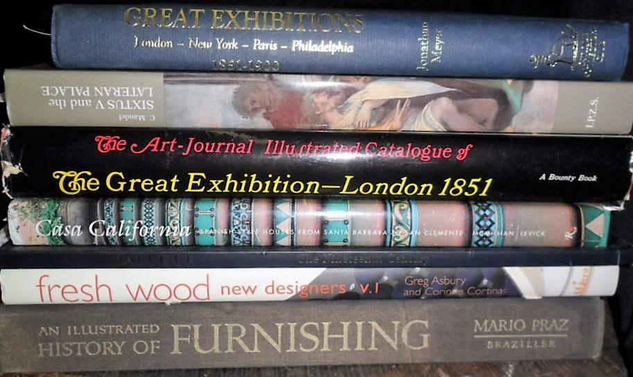 LOT (7) VOLUMES GREAT EXHIBITIONS INCL. THE AR JOURNAL