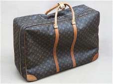 ORIG.LOUIE VUITTON LEATHER GARMENT TRAVEL BAG SER.