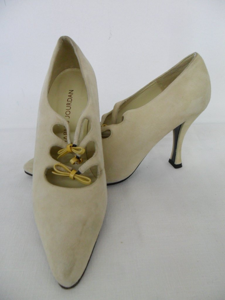 11 PR VINTAGE DESIGNER SHOES INCL. CHANEL, PICCONE, - 4