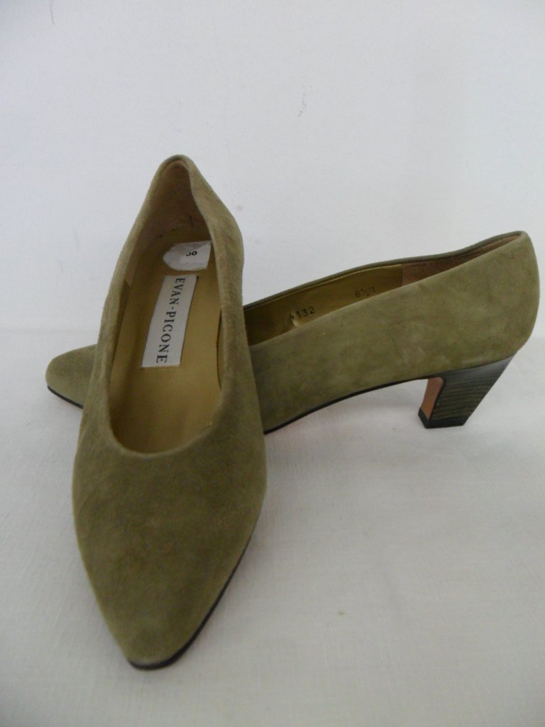 11 PR VINTAGE DESIGNER SHOES INCL. CHANEL, PICCONE, - 7