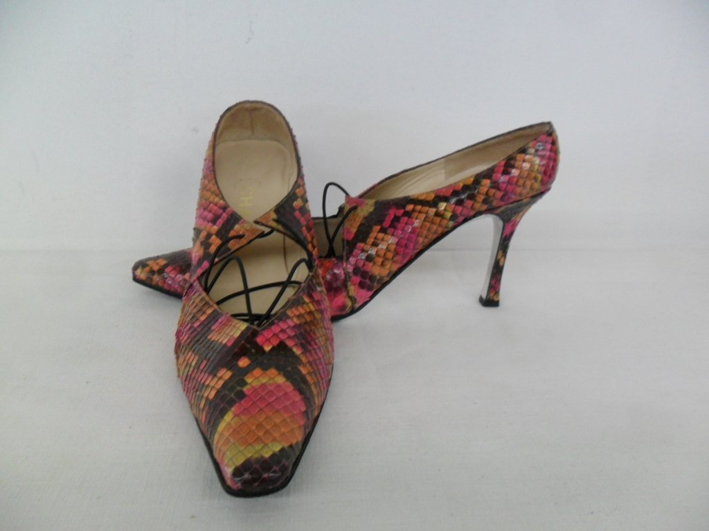 11 PR VINTAGE DESIGNER SHOES INCL. CHANEL, PICCONE, - 8